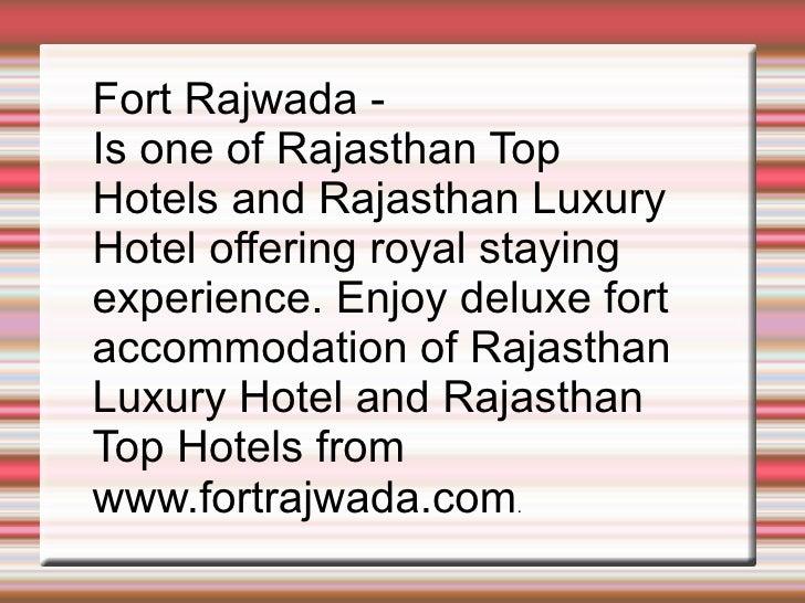 Rajasthan Hotels Booking, Rajasthan Hotel Reservation.