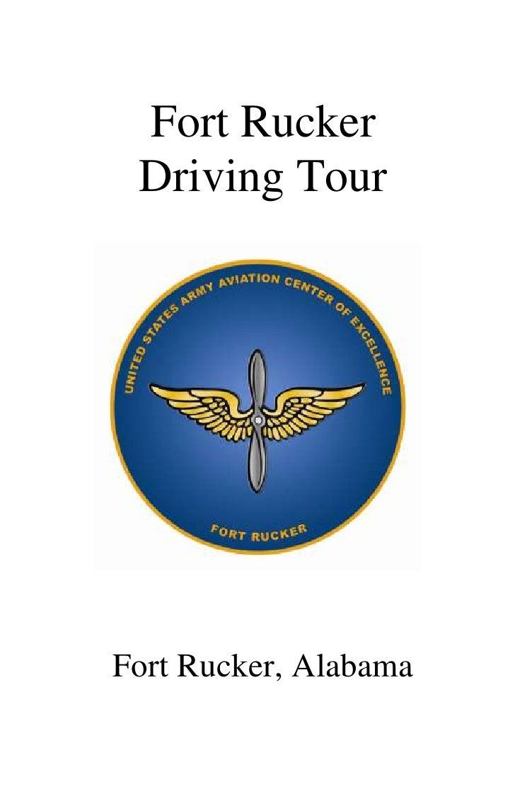 Fort Rucker Driving TourFort Rucker, Alabama
