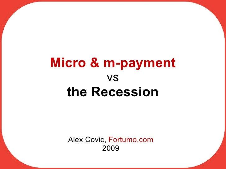 Fortumo keynote, BizBuzz 2009