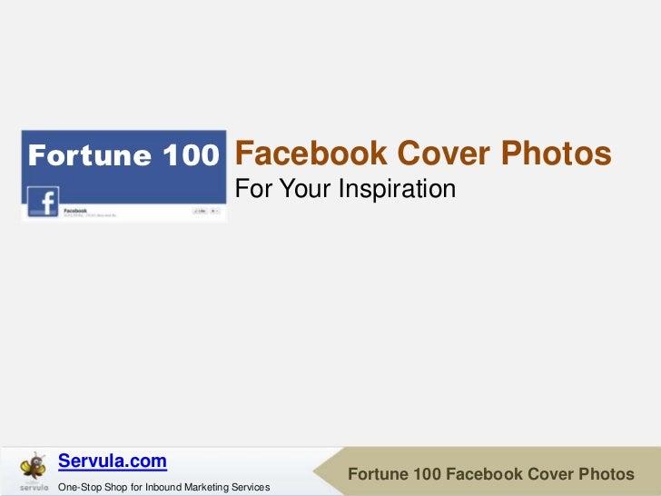 Fortune 100 Facebook Cover Photos                                     For Your Inspiration Servula.com                    ...