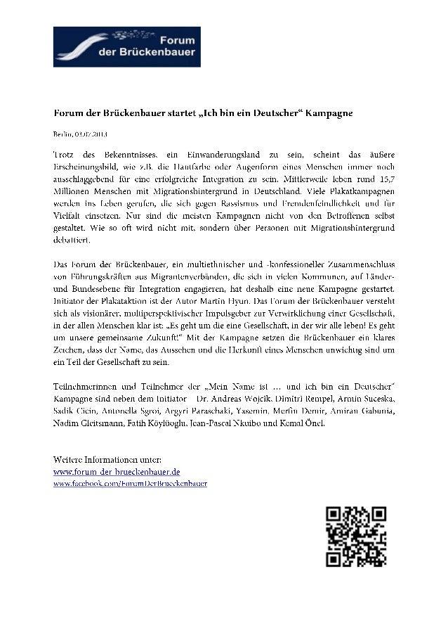 Forum der brückenbauer plakatkampagne   pm