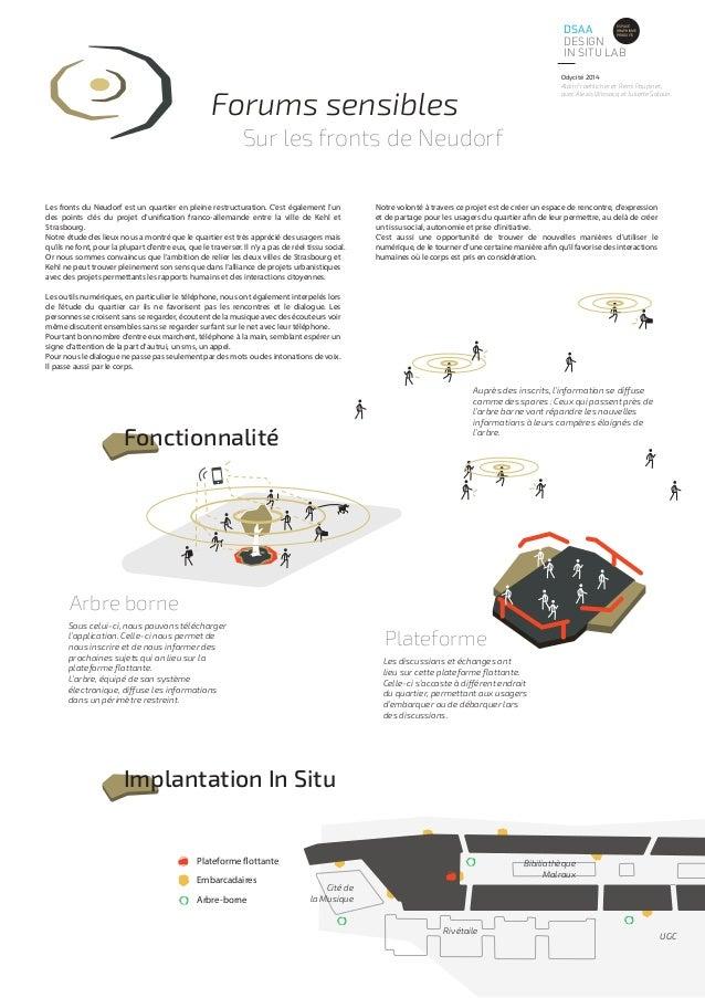 DSAA  DESIGN  IN SITU LAB  ESPACE  GRAPHISME  PRODUITS  Odycité 2014  Alain Froehlicher et Rémi Poupinet,  avec Alexis Wis...