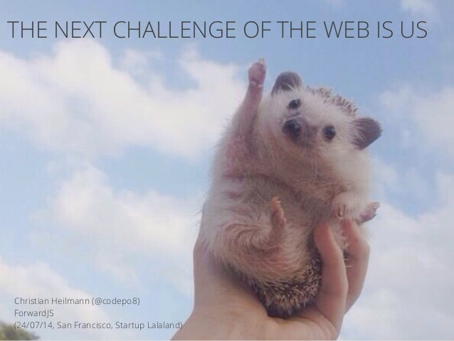 The Next Challenge of the Web is UsForwardsjs