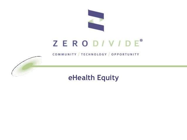 eHealth Equity