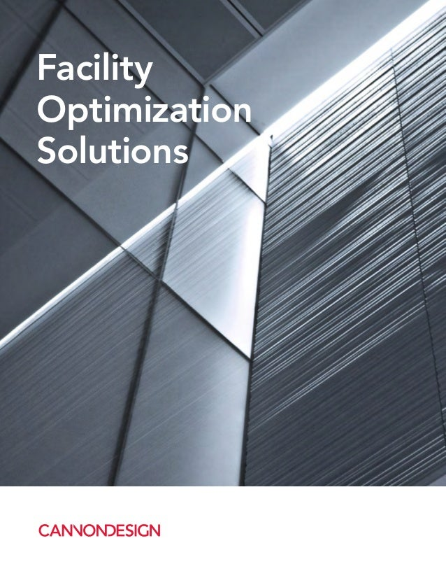 Facility Optimization Solutions Brochure