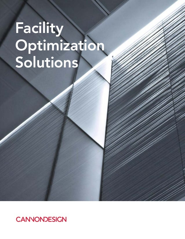 Facility Optimization Solutions