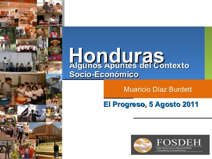Fosdeh análisis de contexto económico de honduras agosto 2011