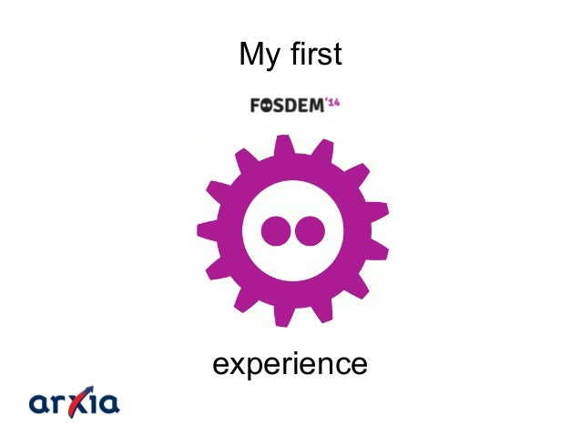 My first FOSDEM experience