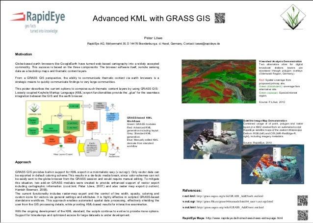 Advanced KML with GRASS GIS                                                                                               ...