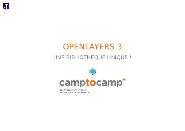 FOSS4G-FR 2014 : OpenLayers 3