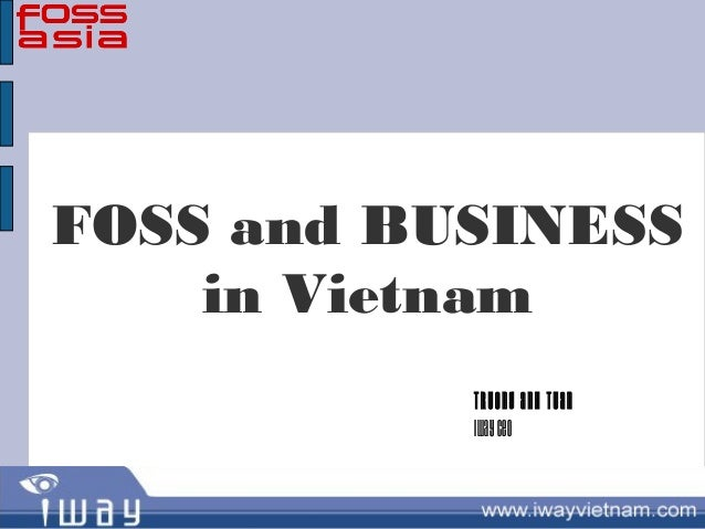 FOSS and Business in Vietnam