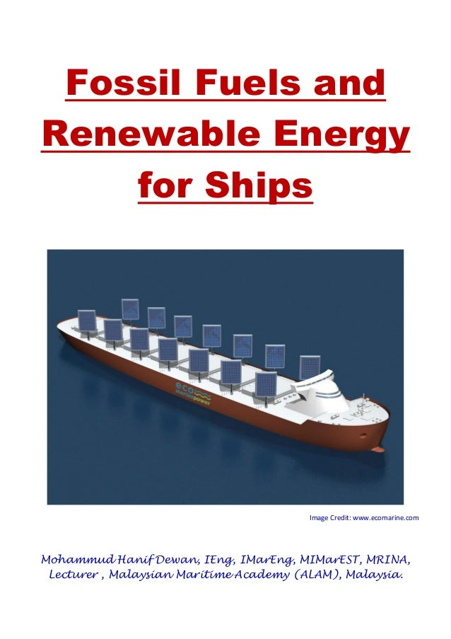 the course of the development of alternative energy technology to fossil fuels Alternative energy for energy should be the main alternative to fossil fuels awareness and interest in alternative transportation technology.