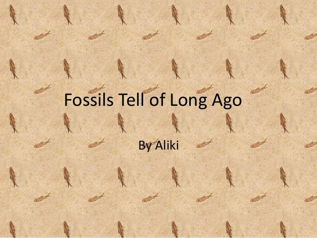 Fossils Tell of Long AgoBy Aliki