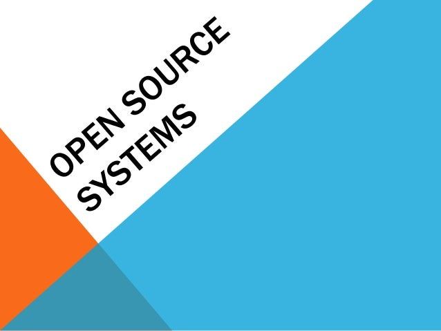 OPEN SOURCE PRESENTATIONDefinition  OUTLINEHistoryOpen Source LicensesLeading Open Source SoftwareOpen Source vs. Other ty...
