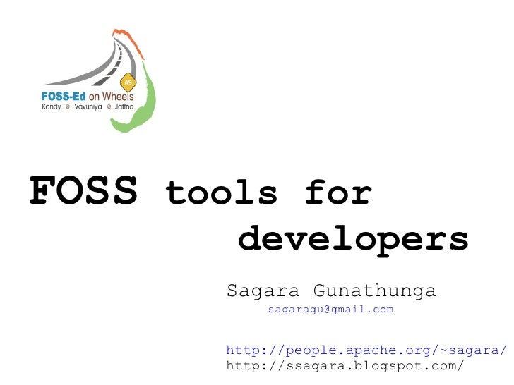 Foss Tools