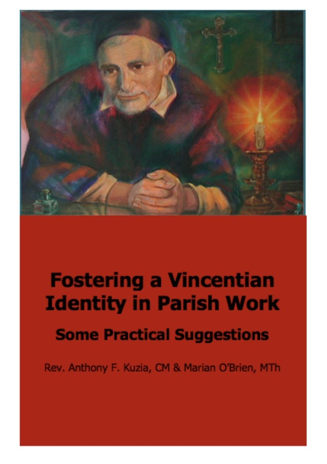 Fostering a Vincentian Identity in Parish Work