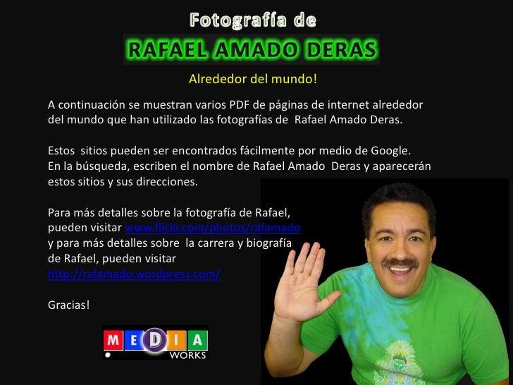 Foto De Rafael Amado En El Mundo