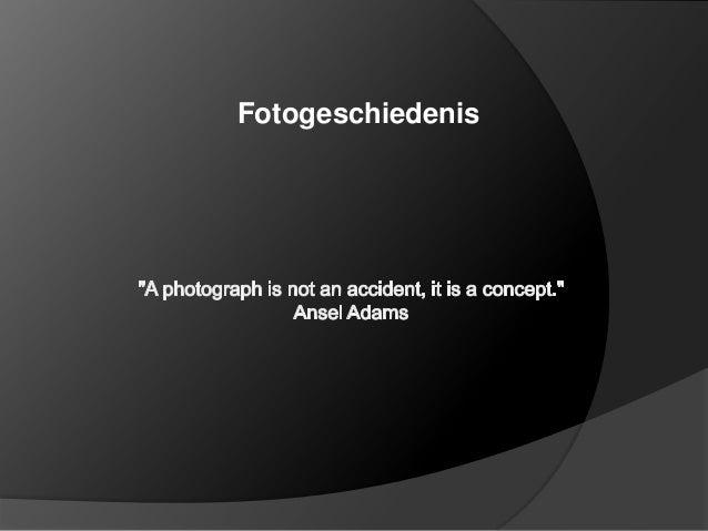 Fotogeschiedenis pro 2