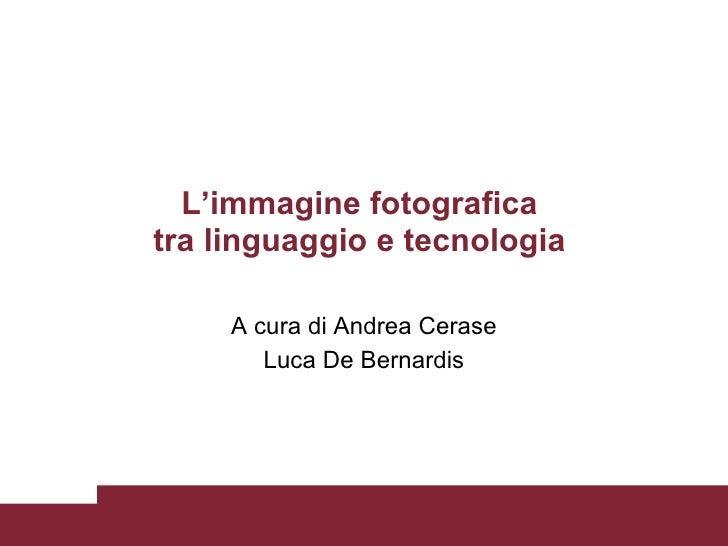Fotogiornalismo e videogiornalismo 4 lezione