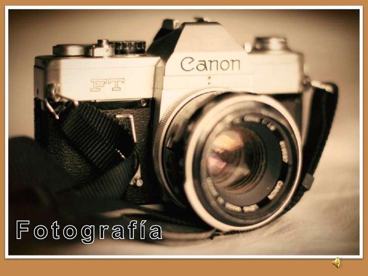 ÍNDICE• Concepto• Elementos de una cámara• Modos de escena• Tipos de cámaras fotográficas• Fotografías