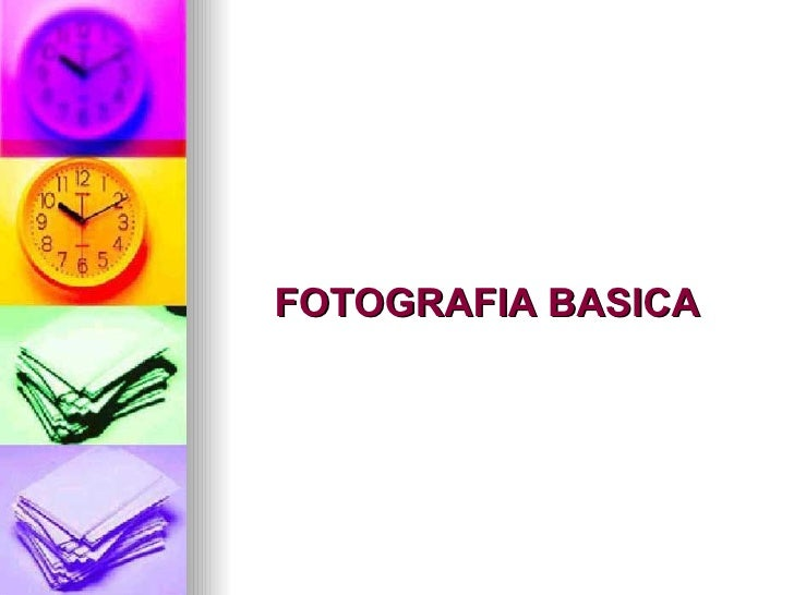FOTOGRAFIA BASICA