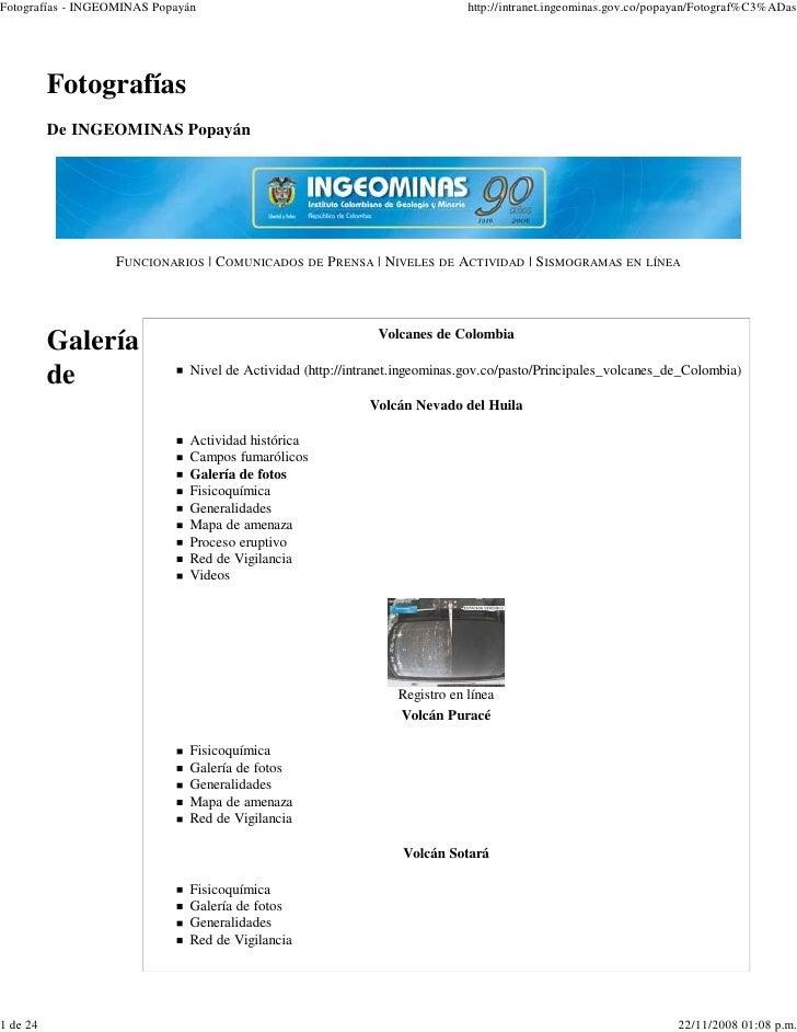 Fotografías - INGEOMINAS Popayán                                             http://intranet.ingeominas.gov.co/popayan/Fot...