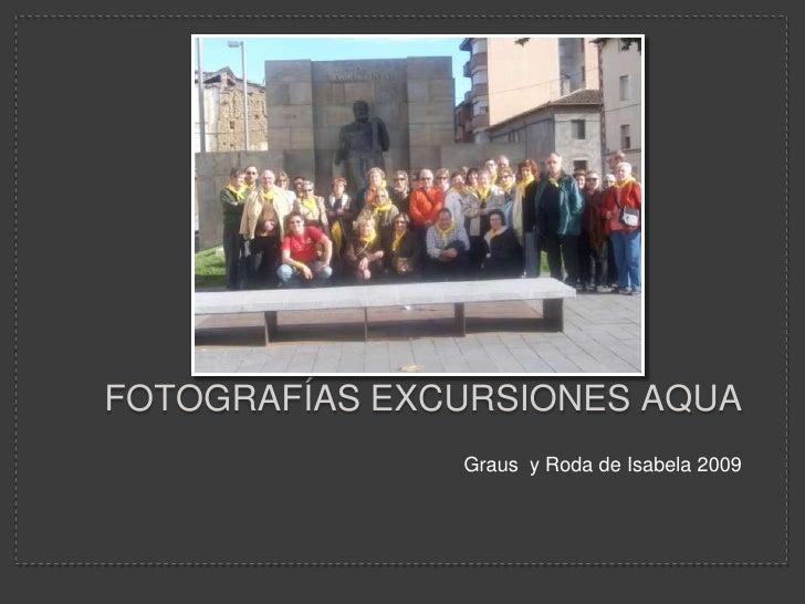 FotografíAs Excursiones Aqua