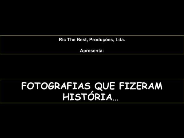 FotografiasquefizeramhistóRia