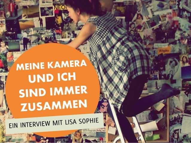 Lisa Sophie istein 16-jährigesMädchen ausBingen am Rhein(Deutschland),das vor 5 Jahrendie Fotografie fürsich entdeckt hat.