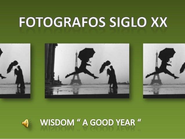 Fotografos siglo xx