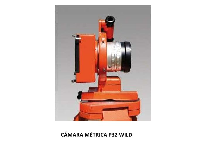 CÁMARA MÉTRICA P32 WILD<br />