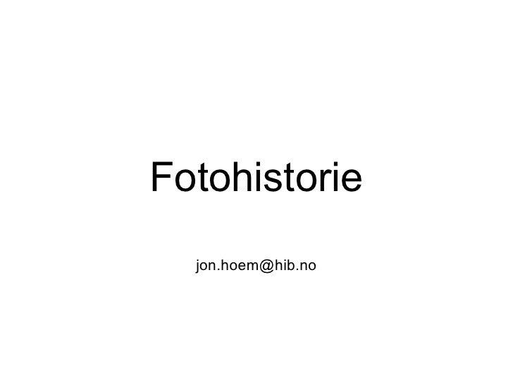 Fotohistorie