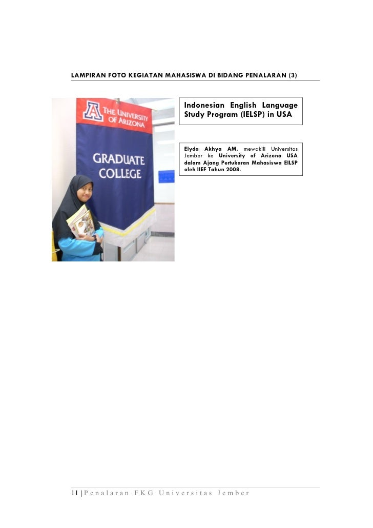 LAMPIRAN FOTO KEGIATAN MAHASISWA DI BIDANG PENALARAN (3)                                       Indonesian English Language...