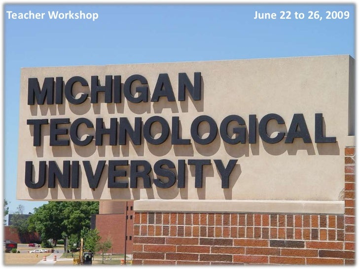 Foto Montaje De Michigan Tech University