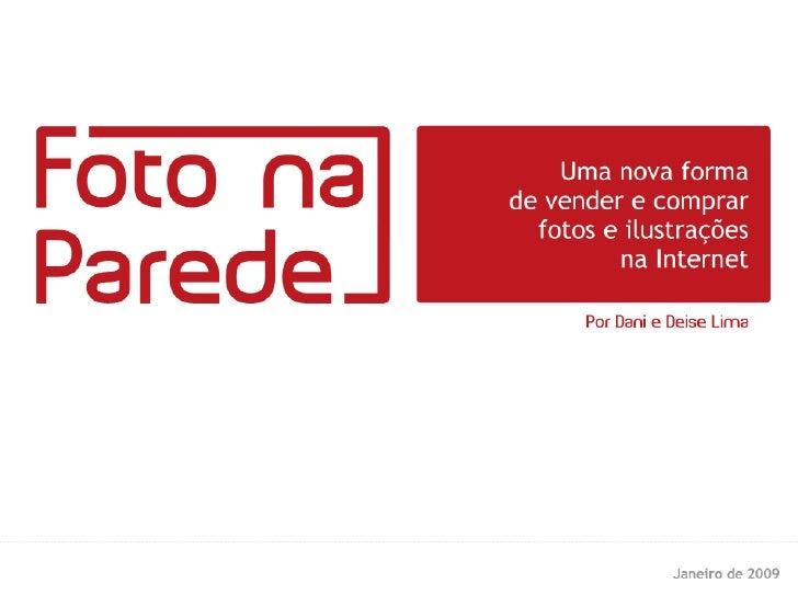 Foto na Parede - Processo de compra detalhado
