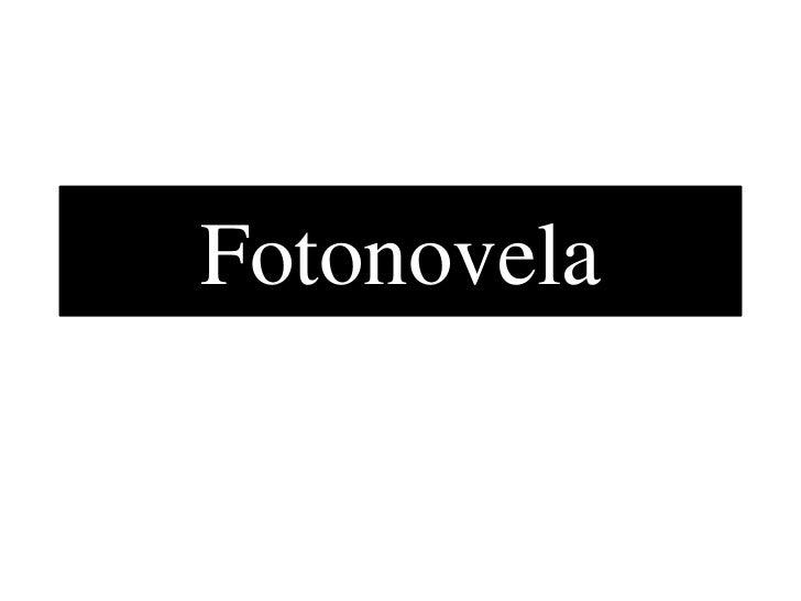 Fotonovela