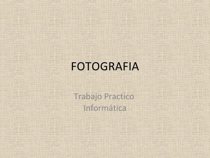 Fotoos