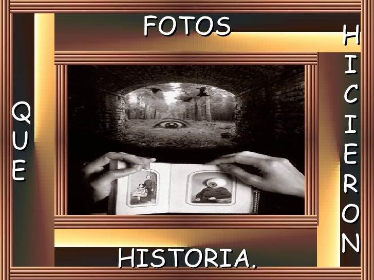 Fotos que hicieron historia