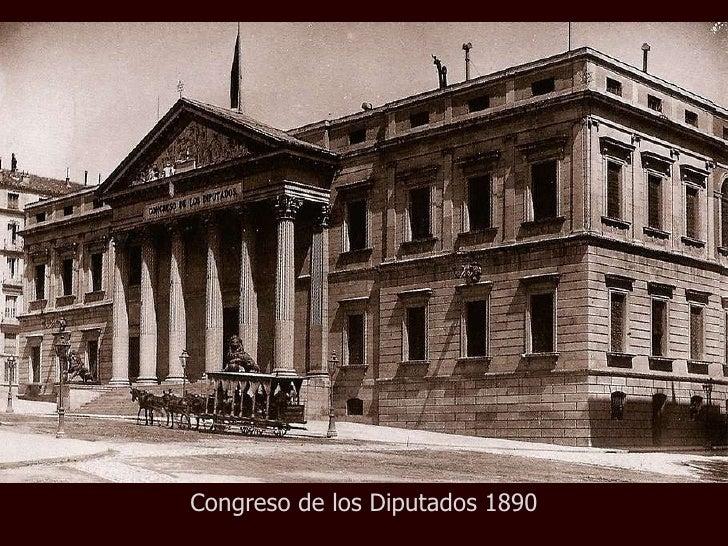 Congreso de los Diputados 1890