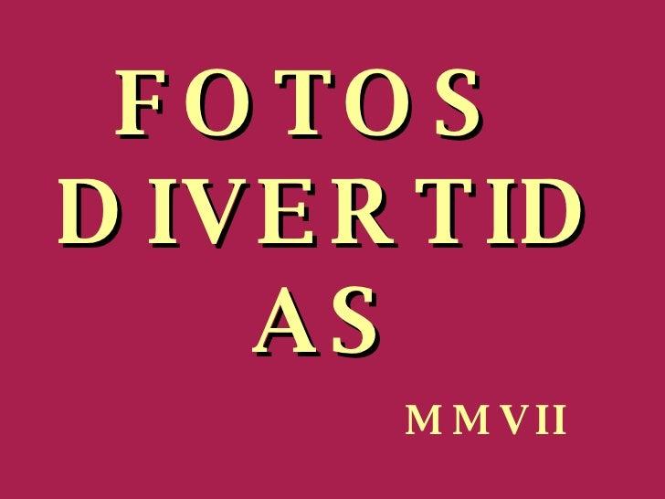 Fotosdivertidas