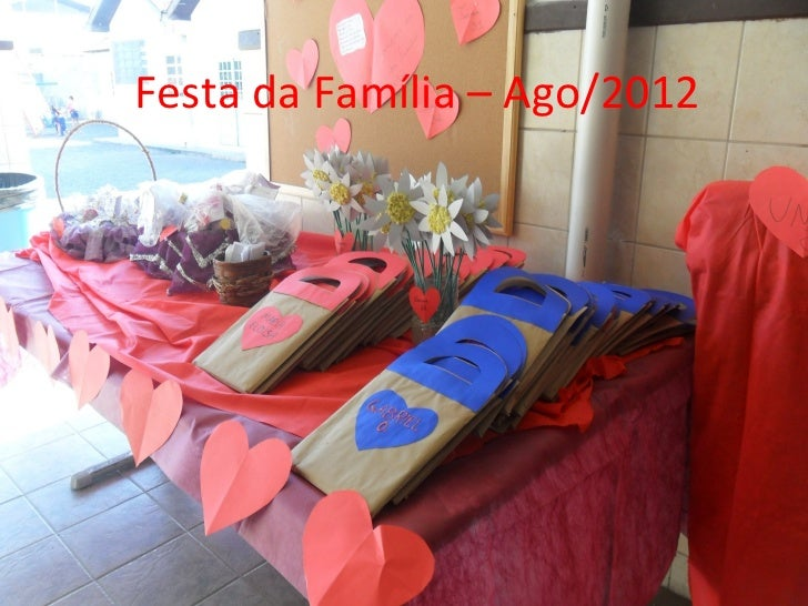 Fotos festa família 2012
