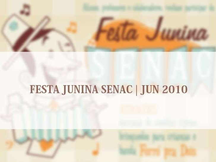 Festa Junina Senac-DF