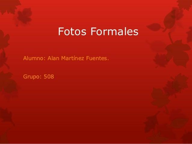 Fotos formales