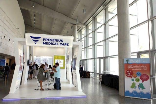 Stand Fresenius Medical Care SEN 2015 Valencia