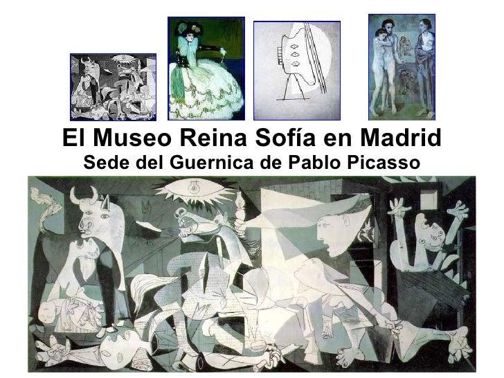 Museo Reina Sofía sede_Guernica Picasso