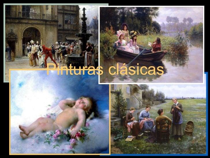 Fotos pinturas clássicas