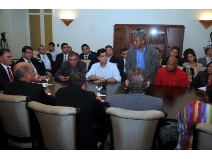 Fotos da Reunião onde foi assinado o Documento Movimento Pró-ES