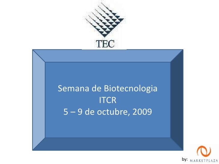 Fotos Semana Biotecnologia ITCR