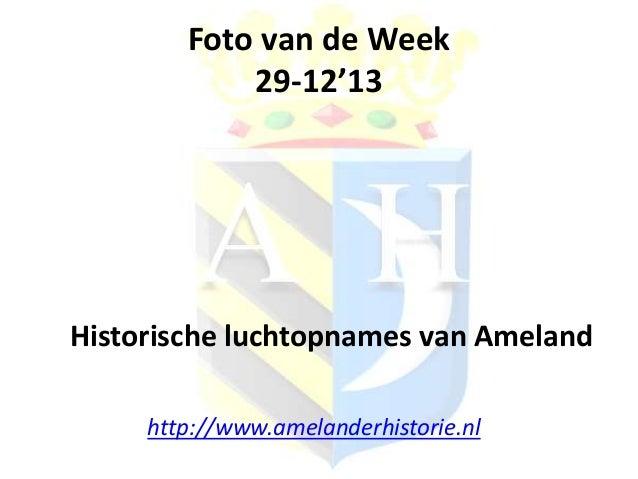 Foto van de week 29-12'13