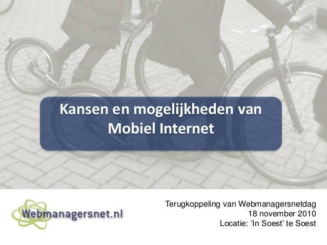 Fotoverslag webmanagersnet 18 nov 2010 v1